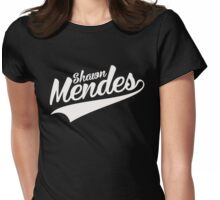 Shawn Mendes Womens Fitted T-Shirt