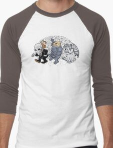 Who the Wild Things Are (11) Men's Baseball ¾ T-Shirt
