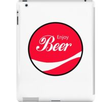 Enjoy Beer iPad Case/Skin