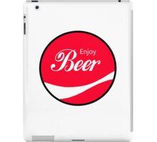Enjoy Beer iPad Case/Skin