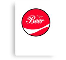 Enjoy Beer Canvas Print