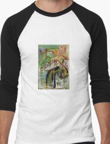 station Men's Baseball ¾ T-Shirt