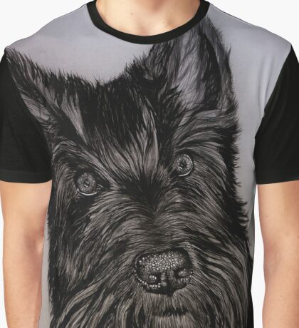 """""""Nellie and Gracie"""" - Dog portraits Graphic T-Shirt"""