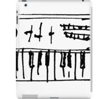 ribald keys iPad Case/Skin