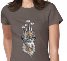 #Industrial Strength Girl Womens Fitted T-Shirt