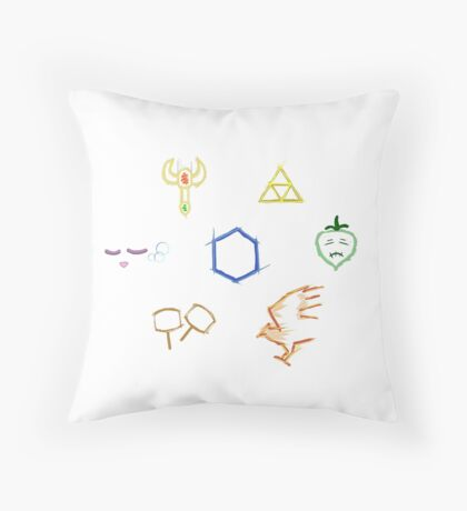 Tier List stickers Melee Throw Pillow
