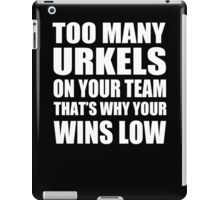 Too Many Urkels - Kanye West iPad Case/Skin