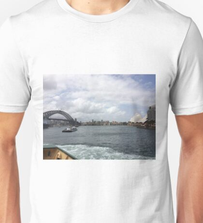 Harbour Bridge and the Opera House, Sydney, Australia  Unisex T-Shirt