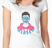 Shawn Mendes Women's Fitted Scoop T-Shirt