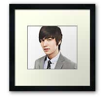 Cool Lee Min  Ho Framed Print