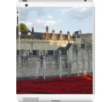 Poppies at The Tower iPad Case/Skin