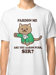 Burr Shot First Alexander Hamilton Fan Classic T-Shirt