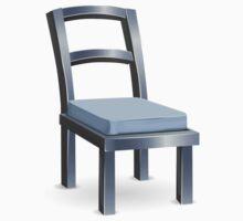 Glitch furniture chair basic metal chair Kids Tee