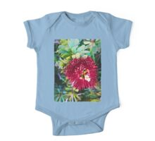 Light on a Red Flower 2 One Piece - Short Sleeve