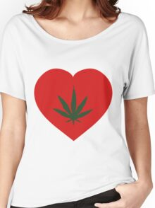 I Love Cannabis - Cannabis Shirts For Men Women's Relaxed Fit T-Shirt
