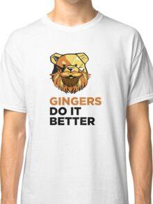 ROBUST Ginger bears black Classic T-Shirt