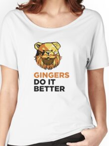 ROBUST Ginger bears black Women's Relaxed Fit T-Shirt