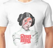 rebel - carrie fisher Unisex T-Shirt