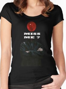 Miss Me ? - Sherlock Holmes 4 Women's Fitted Scoop T-Shirt