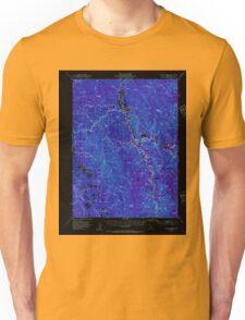 USGS TOPO Map California CA Willow Creek 302001 1952 62500 geo Inverted Unisex T-Shirt