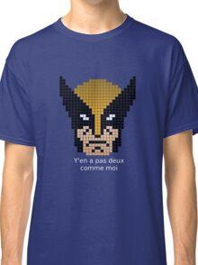 Wolverine citation Pixel Art Classic T-Shirt