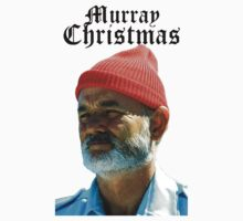 Murray Christmas - Bill Murray  by darthfader