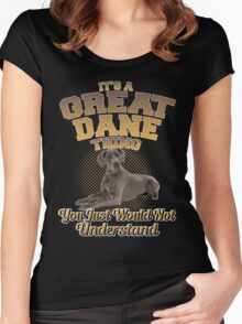 It's A Great Dane Thing Women's Fitted Scoop T-Shirt