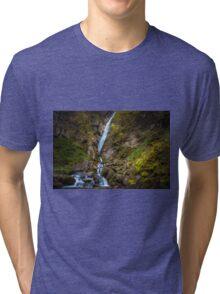 Alpine waterfall Tri-blend T-Shirt
