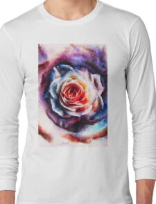 Artistic - XXV - Abstract Rose Long Sleeve T-Shirt