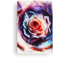 Artistic - XXV - Abstract Rose Canvas Print