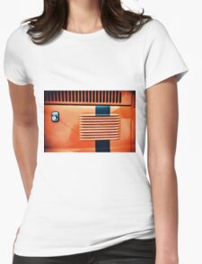 Fiat cinquecento Womens Fitted T-Shirt