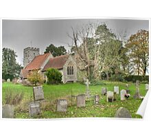 St Giles Wormshill Poster