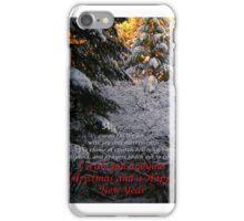 Christmas Card #665373 iPhone Case/Skin