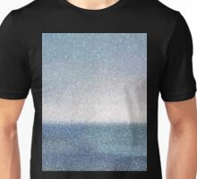 Static Beach Scene Unisex T-Shirt