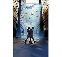 Urban Fish Bowl, aquarium Photographic Print