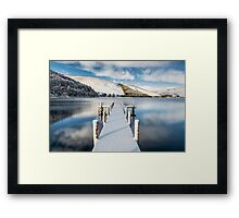 """Cool Water"" Framed Print"