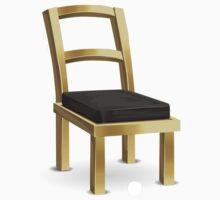 Glitch furniture chair brass metal chair Kids Tee