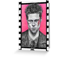 Who Is Tyler Durden? / Fight Club Greeting Card
