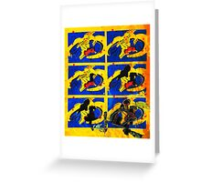Space - Fanart Cylon Greeting Card