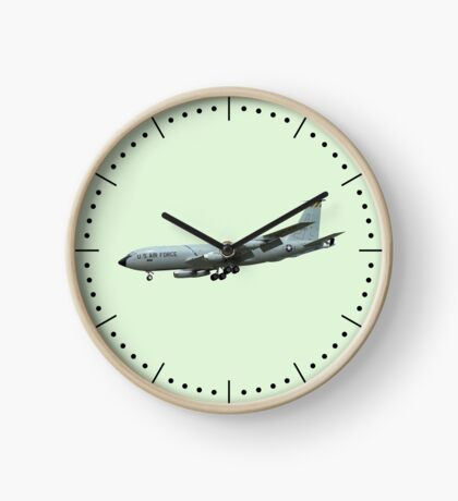 KC135A Stratotanker on Green b/g and dash dial markings Clock