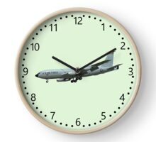 KC135A Stratotanker on Green b/g and numbered dial Clock