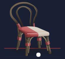 Glitch furniture chair cane chair Kids Tee