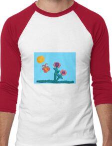 Jewelie's Garden Men's Baseball ¾ T-Shirt