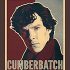 Sherlock Trilogy  - Cumberbatch (Greeting Card) by ifourdezign