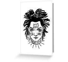Basquiat // SAMO Greeting Card