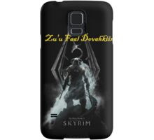 Skyrim: Zu'u Faal Dovahkiin (I am The Dragonborn) Samsung Galaxy Case/Skin