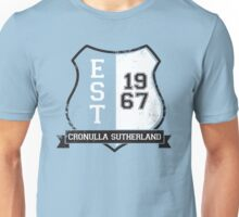 Cronulla Sutherland Rugby League: Established Shield Unisex T-Shirt
