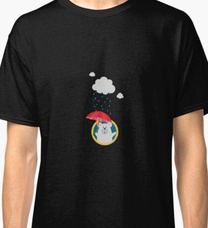 Polar Bear in the Rain Classic T-Shirt