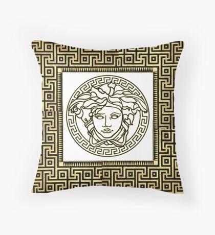 Versace Greek Throw Pillow