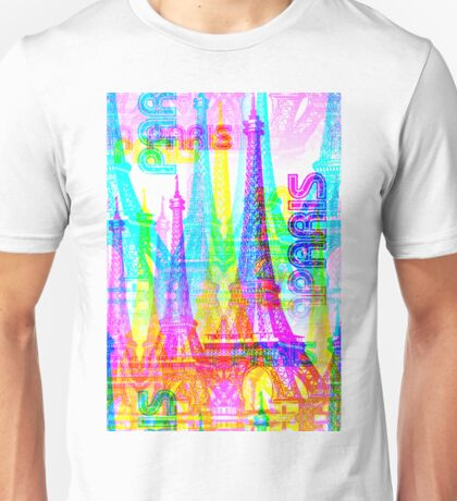 Paris France Tower Unisex T-Shirt